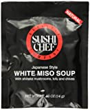 Sushi Chef White Miso Soup Mix, 0.50 Ounce Packet (Pack of 72)