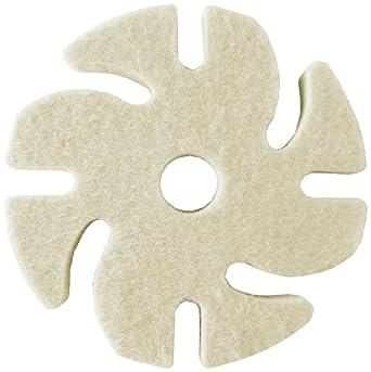 """JoolTool 3M Ninja See-Thru Buff and Polish Felt Wheel, Medium, 3"""" Diameter"""