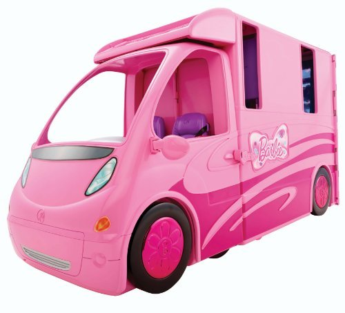 Hot Barbie and Her Sisters in a Pony Tale RV Vehicle Toy/Game/Play Child/Kid/Children