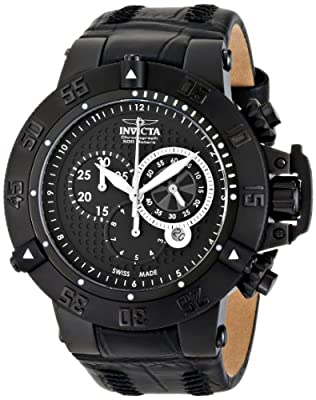 Invicta Men's 80658 Subaqua Analog Display Swiss Quartz Black Watch