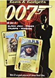 James Bond 007 Guns & Gadgets 4 in 1 Playing Cards gadgets