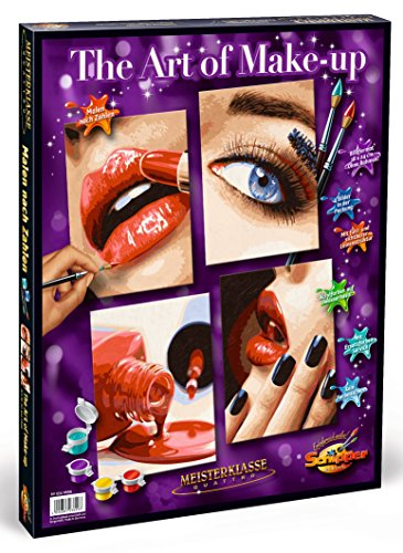 Schipper Art of MakeUp Paint-by-Number Kit