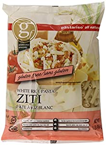 Pastariso All Natural White Ziti, 1-Pound (Pack of 6)