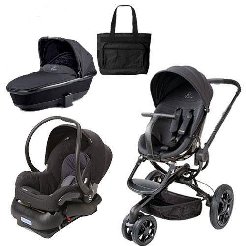 Quinny Moodd Stroller Travel System And Dreami Bassinet In