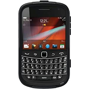 OtterBox Commuter Series Hybrid Case for BlackBerry 9900/9930 Bold Touch - 1 Pack - Retail Packaging - Black