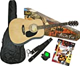 Fender SA-100 Upgrade Acoustic Guitar Pack Natural