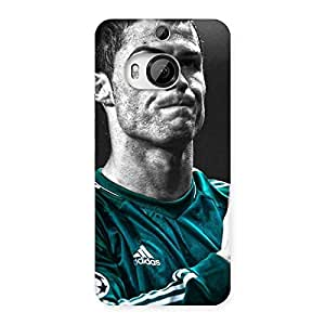 Radiant Calm Soccer Star Back Case Cover for HTC One M9 Plus