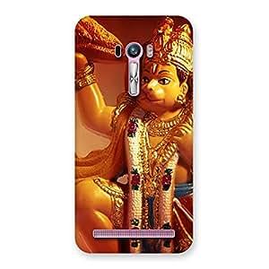 Special Lord Hanuman Multicolor Back Case Cover for Zenfone Selfie
