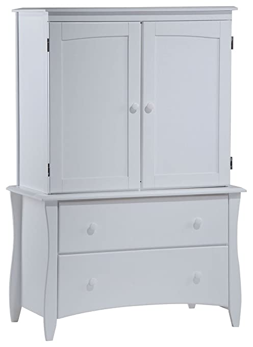 Night & Day Clove Armoire White
