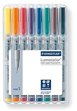 STAEDTLER Folienstift Lumocolor Set
