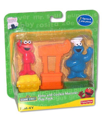 Sesame Street: Elmo & Cookie Monster Play Pack