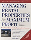 img - for By Greg Perry Managing Rental Properties for Maximum Profit, Revised 3rd Edition: Save Time and Money with Greg Pe (3 Revised) [Hardcover] book / textbook / text book