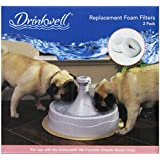 PetSafe Drinkwell 360 Replacement Foam Filter, 2-Pack