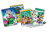 School Is Cool Activity Set Two Pack Tin: Pete's Dragon/Three Caballeros