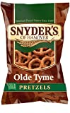 Snyders of Hanover Pretzels, Olde Tyme, 9 Ounce (Pack of 12)