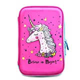 Jojo Kids Unicorn Pencil Case An Awesome Present For Girls | Premium Quality Cute Zipper Pouch | Big Capacity Pen Box With Compartments For School Supplies     (Color: Multicolor)