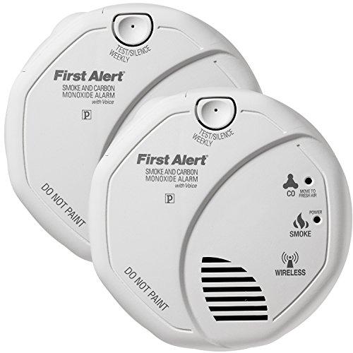 onelink wireless talking battery operated smoke carbon monoxide alarm sco501b2 2pk. Black Bedroom Furniture Sets. Home Design Ideas