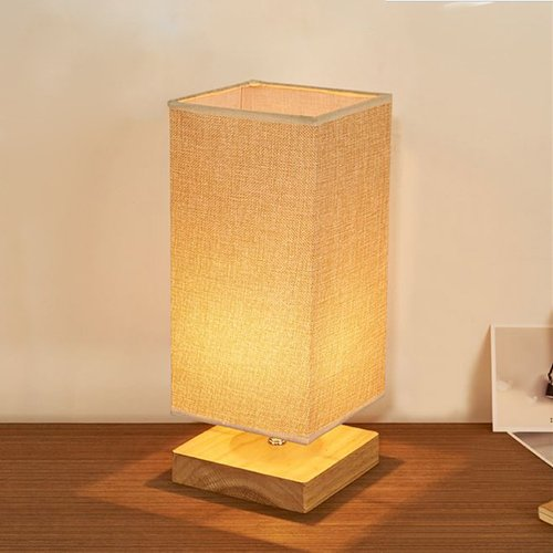 Wood Table Lamp Bedside Desk Lamp Surpars House Minimalist