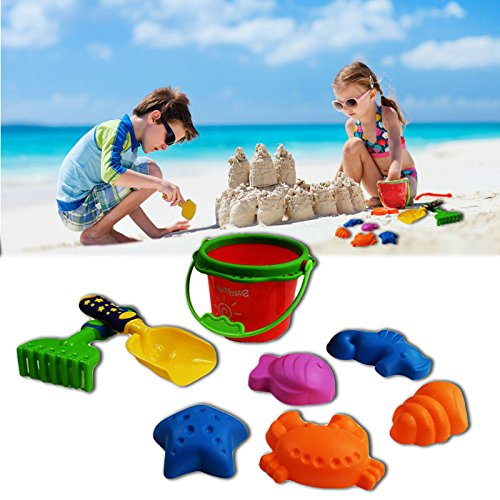 Dazzling Toys Sand & Water - 8-pc Sand Toy Set Asst