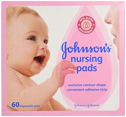 Johnson's, Nursing Pads, Contour Shape Pads, 60 ct