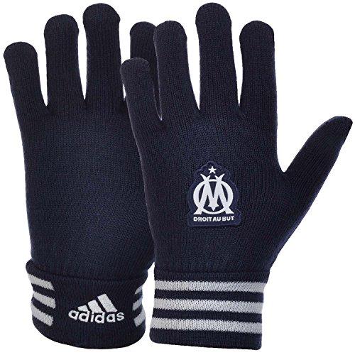 Hot adidas Performance Olympique Marseille Soccer Club Gloves - Navy - L