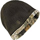 Legendary Whitetails Mens Trophy Buck Reversible Knit Camo Hat