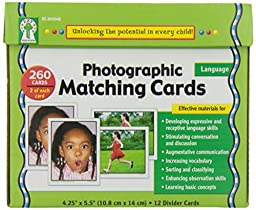 Photographic Matching Cards, Grades PK - K
