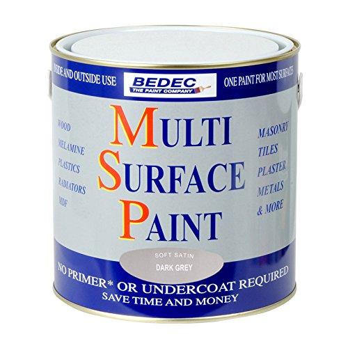 bedec-multi-surface-paint-satin-dark-grey-25l
