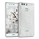 kwmobile Crystal Case Hülle für Huawei P9 mit Blume