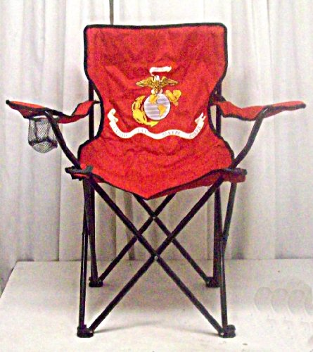 Outdoor Furniture U S Marine Corps Folding Camping Chair