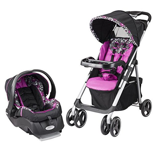 Baby Strollers Travel Systems Carseat Canopy Pink