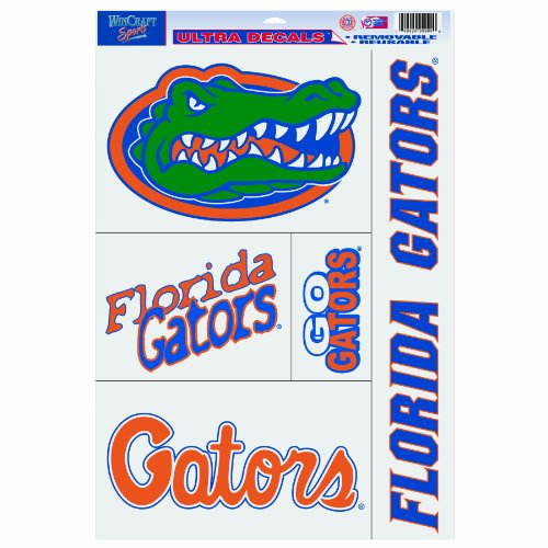Ncaa Florida Gators 11-By-17 Ultra Decal