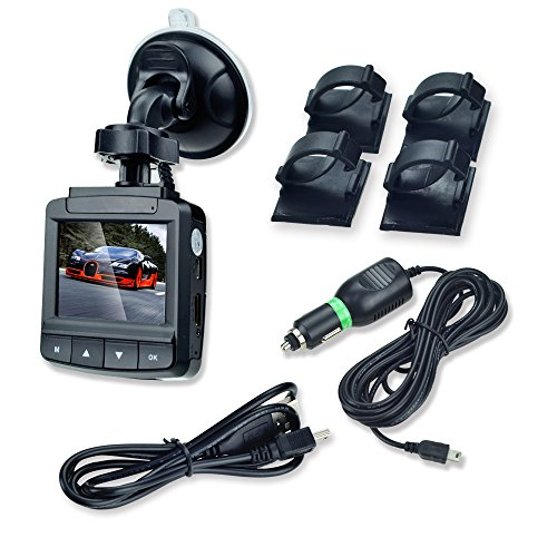 """Bestek® Car Camcorder Video Recorder Dvr Black Box With 140° Wide Angle 360° Rotating 2.4"""" Lcd Display G-Sensor 1080P Hdmi Output And Up To 32Gb Sd Card Supported Btcd029"""
