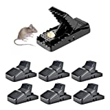 HARCCI Effective Rat Trap - Ultimate Pest Control for Gophers, Voles, Mice and Rats at Home, Office or Garage - No Poison or Dangerous Fluids for Human Safety | Easy to Use and to Clean