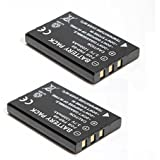 2x 1200mah R07 R607 Battery for HP Photosmart R707 R717 R927 R967 R707XI R817V R927 R817XI