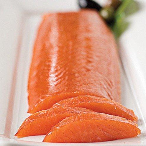 Skinless Smoked Salmon Scottish Smoked Salmon Heart