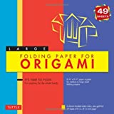 "Folding Paper for Origami - Large 8 1/4"" - 49 Sheets: (Tuttle Origami Paper)by Tuttle Publishing"