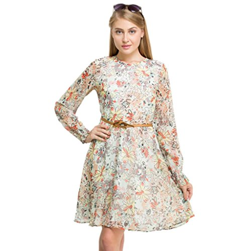 Oxolloxo Women's Floral Dress