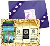 The Purr-fect Pet Gift Set for Every Cat Lover Who Also Loves Great Coffee! Kona Hawaiian Coffee Sampler with All Natural Gourmet Treats for Your Kitty!