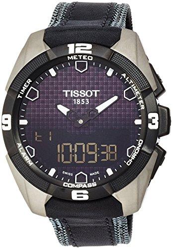 Tissot-Mens-T0914204605101-T-Touch-Expert-Titanium-Watch
