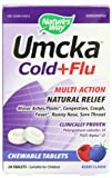 Natures Way Umcka Cold and Flu Chewable, Berry, 20 Count