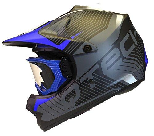 childrens-kids-motocross-mx-style-helmet-goggles-bmx-quad-bike-nitron-by-qtech-blue-medium