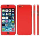 NanoSkin ナノスキン iPhone 6 (4.7インチ)アイフォンフルカバーケース オレンジ