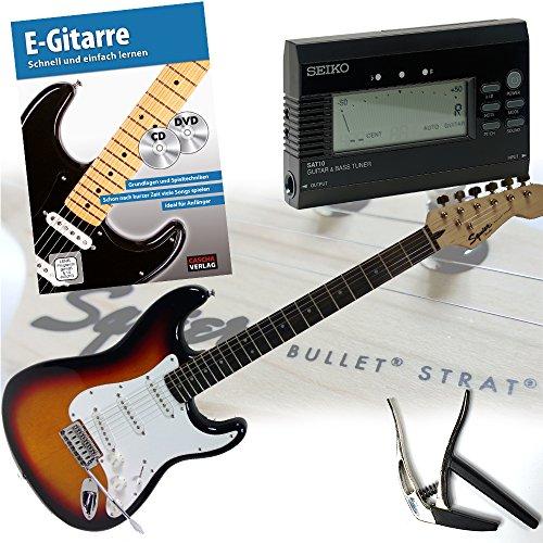 fender-squier-bullet-strat-e-gitarre-mit-lehrbuch-cd-und-dvd-trigger-kapodaster-und-original-seiko-s