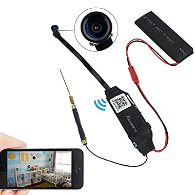 Toughsty™ 1920x1080P HD Mini P2P Wifi Hidden Camera Motion Activated Video Recorder DV Camcorder Support IOS Android APP Remote View 140° Wide View