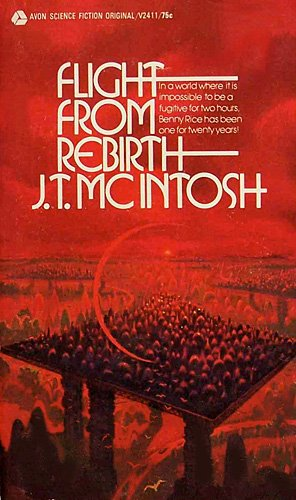 Flight From Rebirth (Avon SF #V2411), McIntosh,J.T.