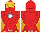 Marvel Avengers Iron Man Poncho Hooded Towel by Kidco