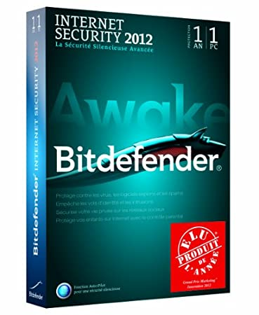 Bitdefender Internet Security 2012 (1 poste, 1 an)