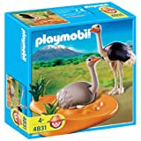 Playmobil - 4831 - Jeu de construction - Couple d'autruches et nidpar Playmobil