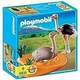 Playmobil - 4831 - Jeu de construction - Couple d'autruches et nidpar Playmobil